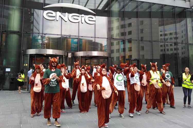 Pourquoi des kangourous ont envahi le siège d'Engie à La Défense ?