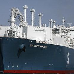 GDF Suez Neptune en arrêt technique à Marseille