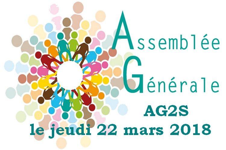 Assemblée Générale AG2S le jeudi 22 mars 2018
