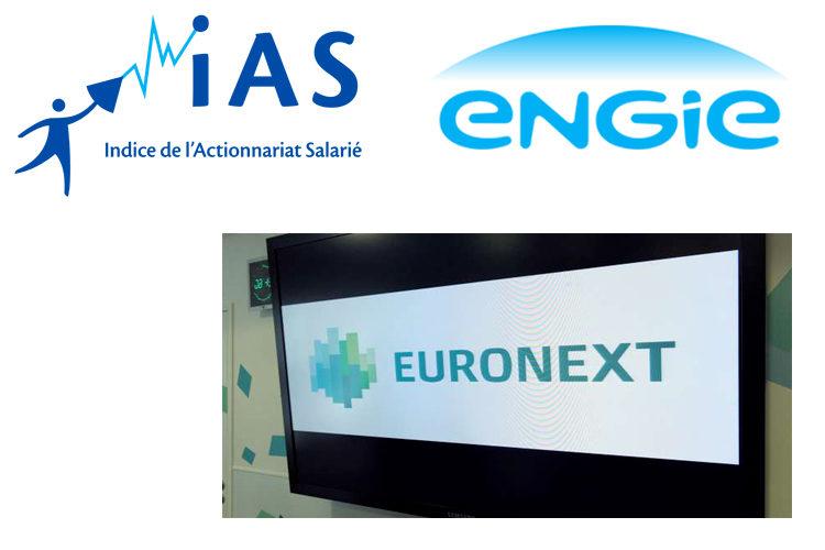 Engie : intègre l'indice de l'actionnariat salarié Euronext FAS IAS