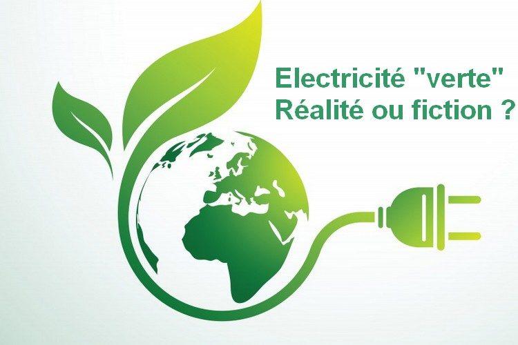 """Electricité """"verte"""" : réalité ou fiction ?"""