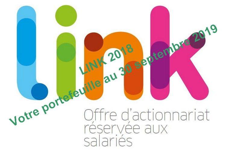 LINK 2018 :  votre portefeuille au 30 septembre 2019