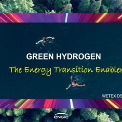 Présentation de la vision et des projets lors du ENGIE #hydrogen séminaire à ATA Insights