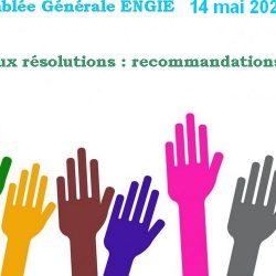 AG Engie 2020 : Vote aux résolutions : propositions AG2S