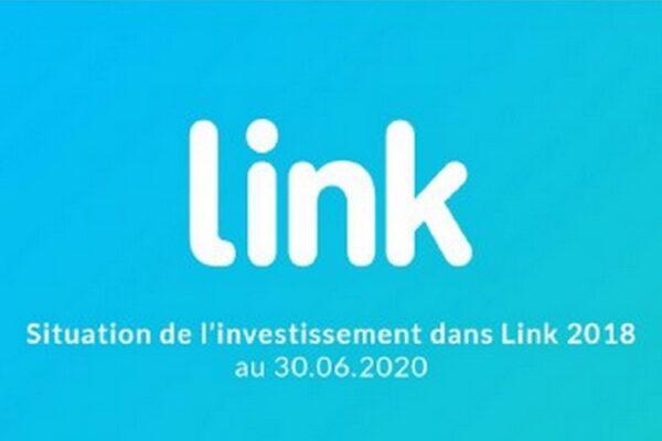 Situation de l'investissement dans LINK 2018 au 30 juin 2020