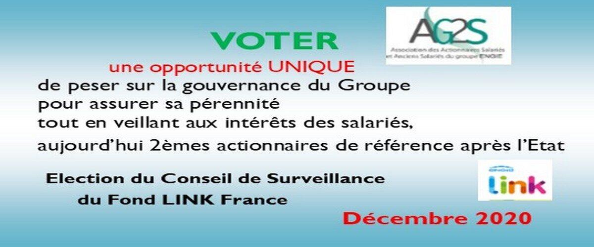 Election Fond LINK France