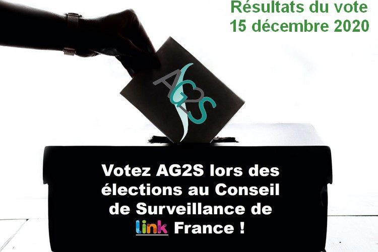 Résultats des élections au Conseil de Surveillance de LINK France - 15 décembre 2020