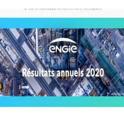 ENGIE  RESULTATS annuels 2020