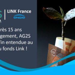 Après 15 ans d'engagement, AG2S est fière de pouvoir enfin être entendue au sein du fonds LINK France