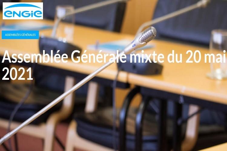 Comment voter du 30 avril au 16 mai pour l'AG ENGIE du jeudi 20 mai 2021